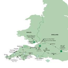 Country Roads of Wales, Devon and Cornwall Summer 2020