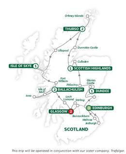 Scotlands Highlands, Islands and Cities Reverse Summer 2020
