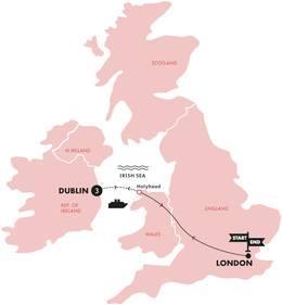 St. Patricks Day (Hotel London to London)