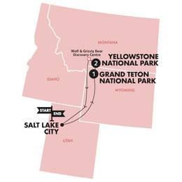 Yellowstone and Grand Tetons(Twin Room,Start Salt Lake City, End Salt Lake City)