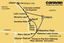 Canadian Rockies and Glacier Park 2021
