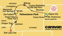 Mt Rushmore, Grand Tetons and Yellowstone 2021