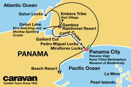 Panama Canal Cruise, Rainforests & Beaches 2021