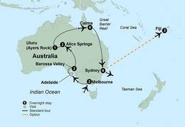 Exploring Australia (18 Days, Standard)