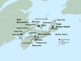 Maritimes Coastal Wonders (11 Days, Alternative)