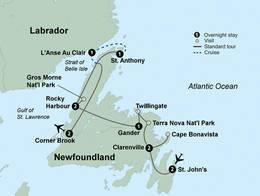 Wonders of Newfoundland (11 Days, Standard)