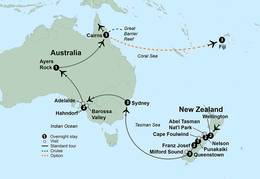 Australia and New Zealand Uncovered (22 Days, Standard)