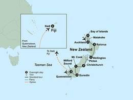 Exploring New Zealands Wonders (19 Days, Standard)