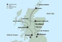 Discover Scotland (10 Days, Standard)