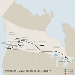 Great Canadian Rail Journey (CZ2020)