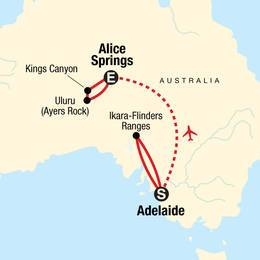 Outback to the Red Centre Adelaide to Alice Springs