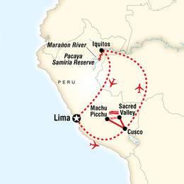 Explore Machu Picchu and the Amazon River