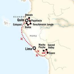 Explore Ecuador and Peru