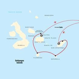 Galápagos — South and Central Islands aboard the Estrella del Mar