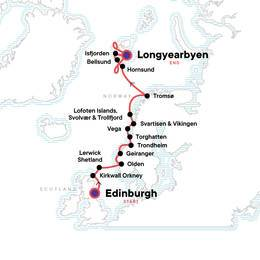 Norwegian Arctic and Scottish Highlands Encompassed