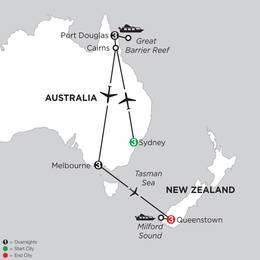Australian Explorer with Queenstown (IPED2021)