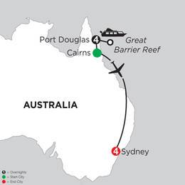 Great Barrier Reef and Sydney (IPK2021)