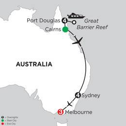 Great Barrier Reef and Sydney with Melbourne (IPKC2021)