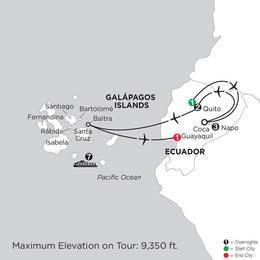 Cruising the Galápagos on board the Coral 7 Night cruise with Ecuadors Amazon (ISZC2020)