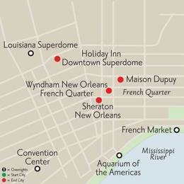 New Orleans OffSeason Getaway 3 Nights (JO2020)