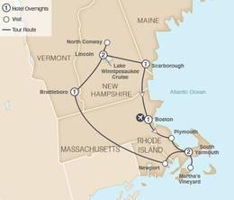 New England and Cape Cod Autumn Foliage 2022