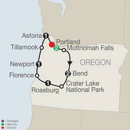 Oregons Coast, Cascades and Craft Beers (NB2020)