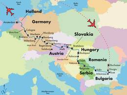 23 Day Grand European River Cruise