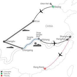 Flavors of China and the Yangtze with Hong Kong (OCE2021)