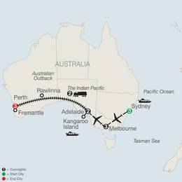 Across Australia on the Historic Indian Pacific Train (PI2020)