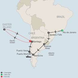 South American Odyssey with Easter Island (SGE22020)