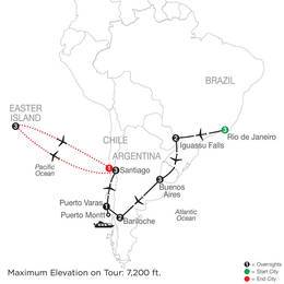 South American Odyssey with Easter Island (SGE22021)