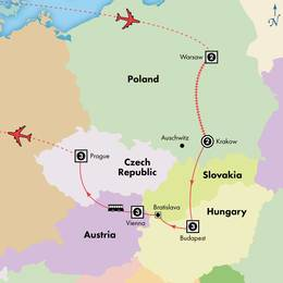 15 Day Deluxe Central Europe