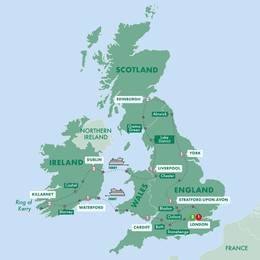 Wonders of Britain and Ireland