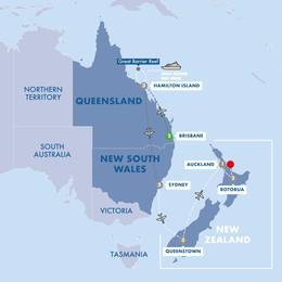 Wonders of Australia and New Zealand