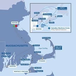 Boston, Cape Cod, and Marthas Vineyard