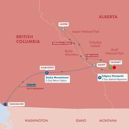 Canadas Rockies with Rocky Mountaineer (Silverleaf)