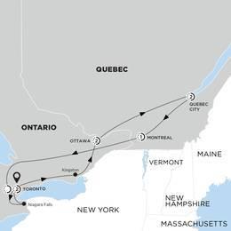 Essence of Eastern Canada end Toronto