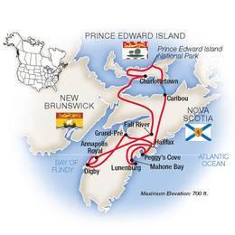 Nova Scotia and Prince Edward Island
