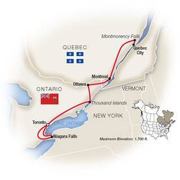 Canadas Capital Cities plus Niagara Falls