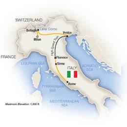 Lake Como, Venice, Florence and Rome (2021)