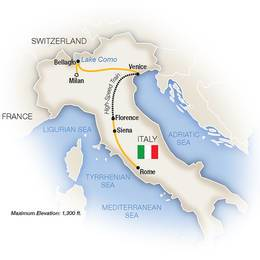 Lake Como, Venice, Florence and Rome (2022)