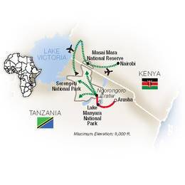 Tauck Africa Tours   Tauck Africa Travel   Tauck Africa Packages