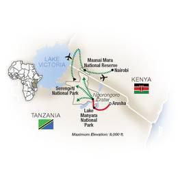 Great Migration Tanzania and Kenya