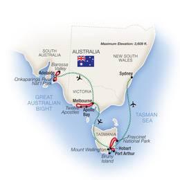 Australia Adventure Adelaide, Tasmania and Sydney