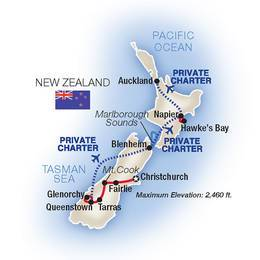 New Zealand A North and South Island Adventure 2022