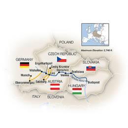 The Blue Danube featuring Oberammergau Westbound