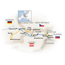Heart of the Danube featuring Oberammergau Eastbound
