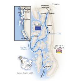 Alaskas Inside Passage Northbound