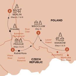 Christmas Markets of Poland, Prague and Germany (Winter 2019 2020)