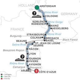 Rhine and Rhône Revealed - Southbound (WAL2019)
